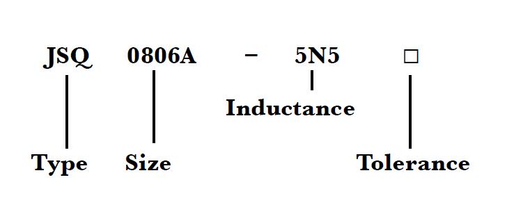 jsq0806a jsq0807a  jsq0908a  smd square air wound coil